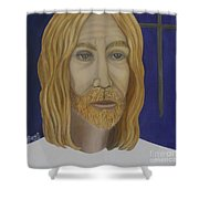 Early Perception Of Jesus. Shower Curtain