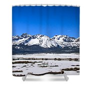 Early Spring In The Sawtooth Shower Curtain
