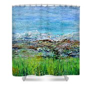 Early Spring Range Shower Curtain