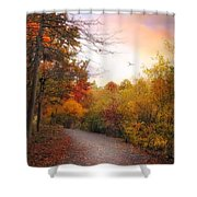 Early To Rise Shower Curtain