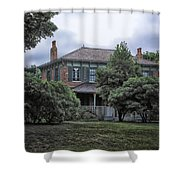 Early Victorian Italianate House Shower Curtain