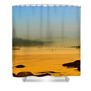 Early View Shower Curtain