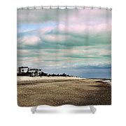 Early Morning Townsends Inlet  Cape May Shower Curtain