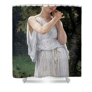 Earrings Shower Curtain