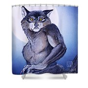 Ears Of The Werewolf Shower Curtain