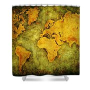 Earth And Brine Shower Curtain
