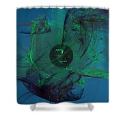 Earth And Heaven Shower Curtain