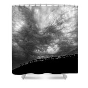 Earth And Sky No.19 Shower Curtain