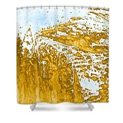 Earth And Space One Hill Shower Curtain