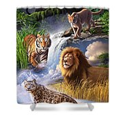 Earth Day 2013 Poster Shower Curtain
