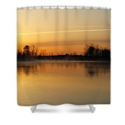 Earth Day Sunrise II Shower Curtain