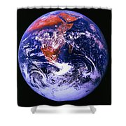 Earth From Space Centered On East Africa Shower Curtain
