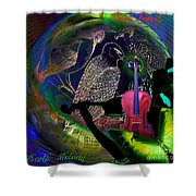 Earth Melody Shower Curtain