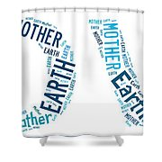 Earth Mother Shower Curtain