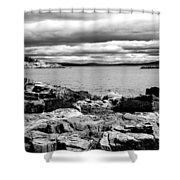 Earth Sea And Sky Shower Curtain