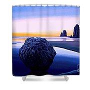 Earth Sunrise Shower Curtain