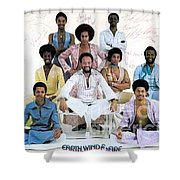 Earth Wind And Fire Autographed Photo Of Group Shower Curtain