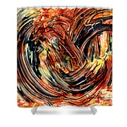 Earth Winds Shower Curtain