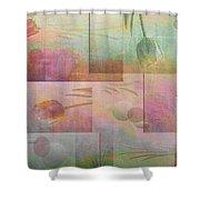 Earthly Garden Shower Curtain