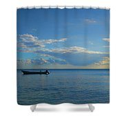 Easing Into The Day Shower Curtain