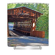 Easley Covered Bridge Shower Curtain