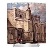 East Bergholt Church, Northside Shower Curtain