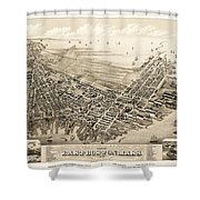 East Boston 1879 Shower Curtain