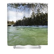 East Branch Of The Pemigewasset River - Lincoln New Hampshire Usa Shower Curtain