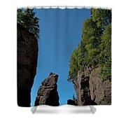 East Coast Landmark Shower Curtain