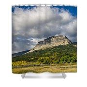 East Flattop Mountain Shower Curtain