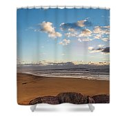 East Hampton Sunrise Shower Curtain