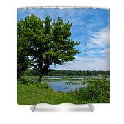 East Harbor State Park - Scenic Overlook 2 Shower Curtain