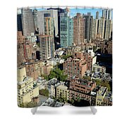 East Midtown Aerial Shower Curtain