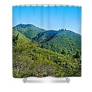 East Peak Of Mount Tamalpias-california Shower Curtain
