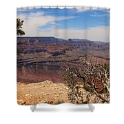 East Rim Grand Canyon Shower Curtain