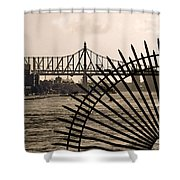 East River View Shower Curtain