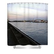East River Vista 1 - Nyc Shower Curtain