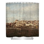 East Side Of Calahorra Shower Curtain