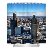 East Side Winter 2013 Shower Curtain