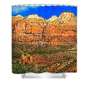 East Temple Shower Curtain