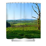 East Tennessee Shower Curtain