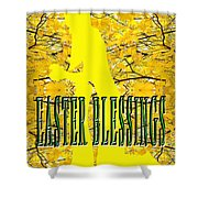 Easter 20 Shower Curtain