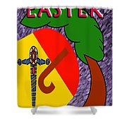Easter 4 Shower Curtain
