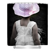 Easter Angel Shower Curtain