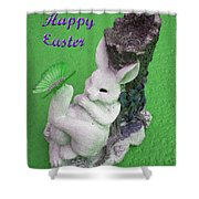 Easter Card 2 Shower Curtain