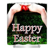 Easter Card 3 Shower Curtain