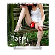 Easter Card 5 Shower Curtain