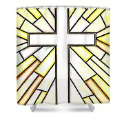 Easter Cross 3 Shower Curtain