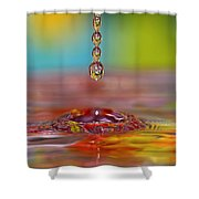 Easter Drop Water  Shower Curtain
