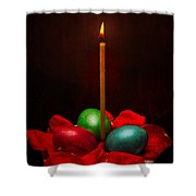 Easter Hope For Peace And Life Shower Curtain